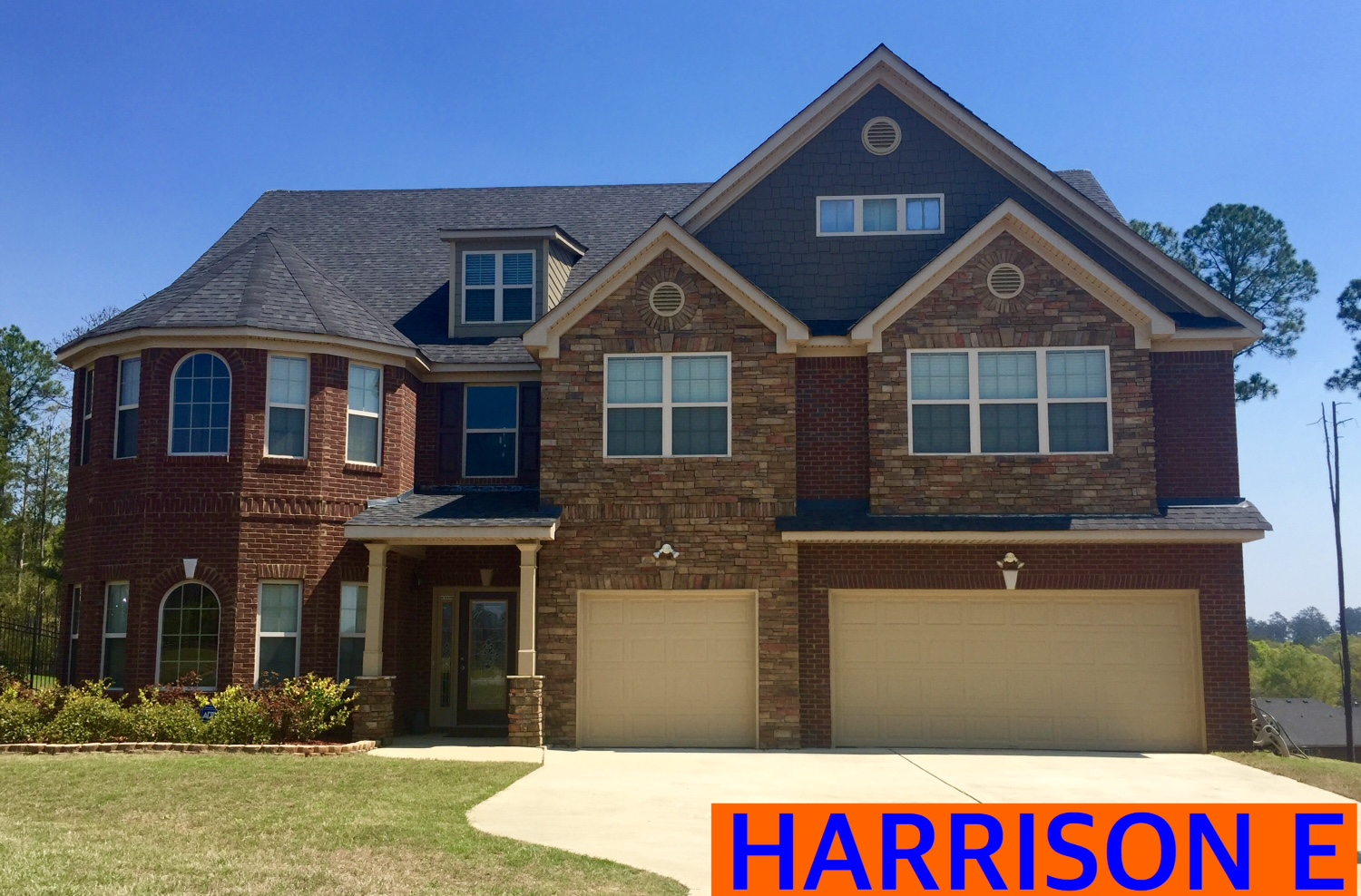 Harrison Floorplan Front Elevation