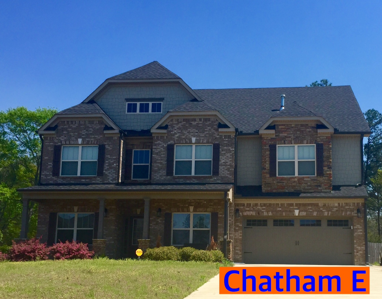 Chatham Floorplan Front Elevation