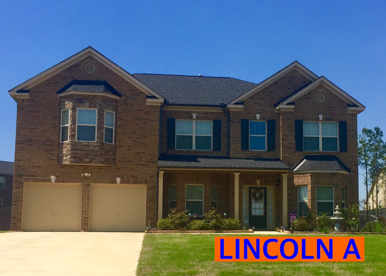 Lincoln Floorplan Front Elevation