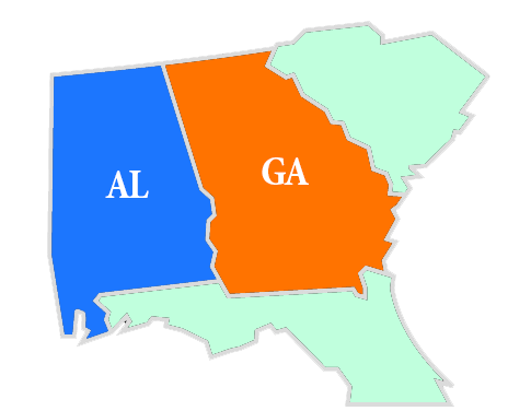 CMD Communities in GA and AL