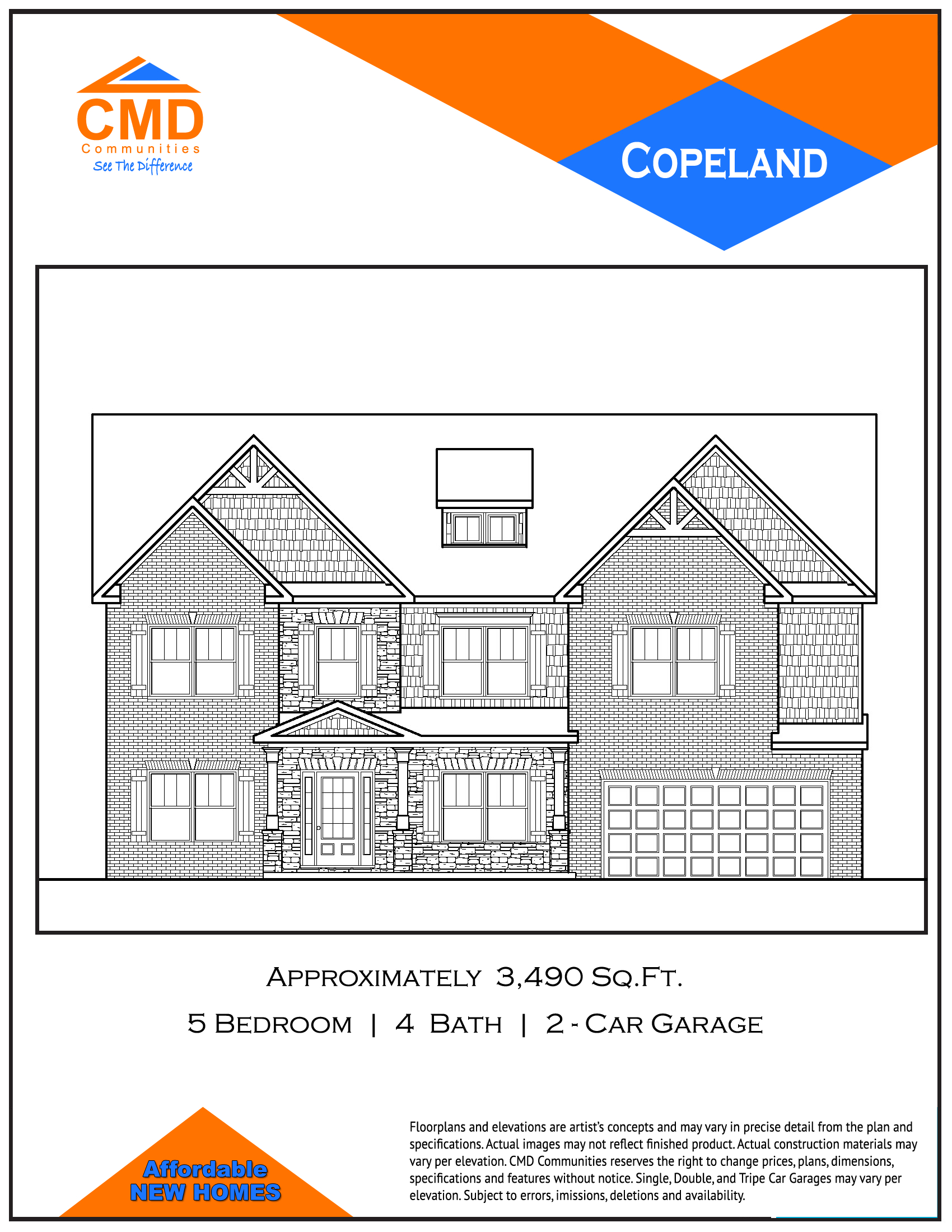 Copeland Floor Plan